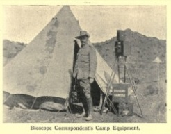 Bioscope Correspondent's Camp Equipment